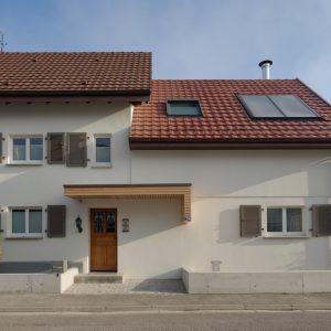 Extension et rénovation - façade avant