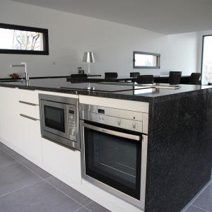 Construction à toit plat - cuisine