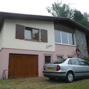 Extension et rénovation - façade avant, avant rénovation
